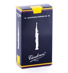 Boite de 10 anches Vandoren Traditionnelles pour Saxophone Soprano