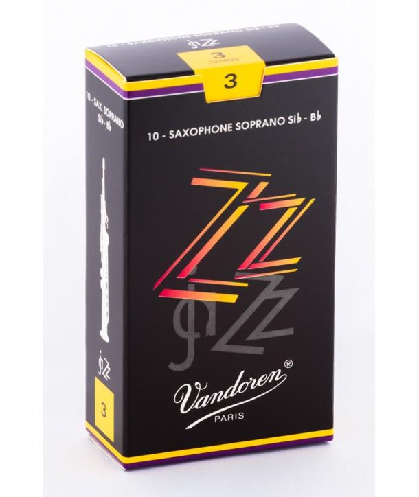 Boite de 10 anches Vandoren ZZ pour Saxophone Soprano