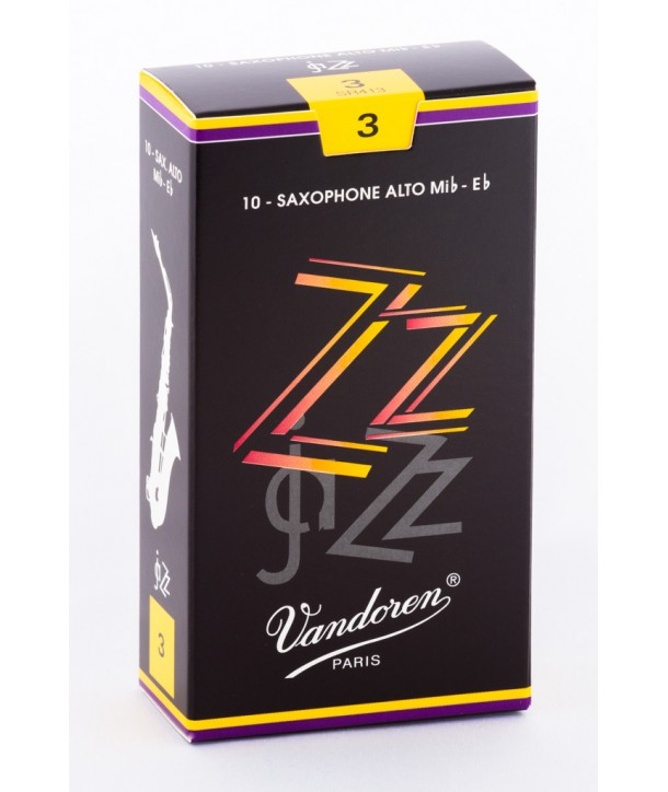 boite de 10 anches Anche de saxophone Alto Mib//Eb Vandoren ZZ
