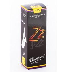 Boite de 5 anches Vandoren ZZ pour Saxophone Ténor