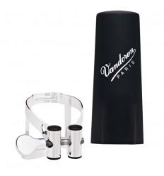 Ligature Vandoren M/O Clarinette avec couvre-bec plastique