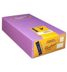 Boite de 50 anches Vandoren Traditionnelles pour Clarinette Sib