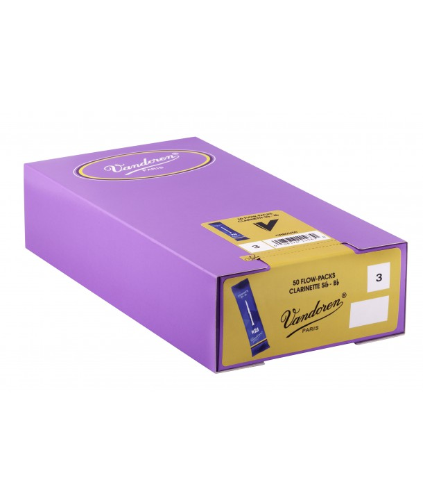 Boite de 50 anches Vandoren V21 pour Clarinette Sib