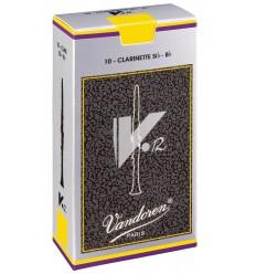 Boite de 10 anches Vandoren V•12 pour Clarinette Sib