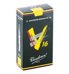 Boite de 10 anches Vandoren V16 pour Saxophone Soprano