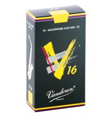 Boite de 10 anches Vandoren V16 pour Saxophone Alto