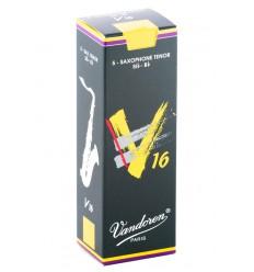 Boite de 5 anches Vandoren V16 pour Saxophone Ténor