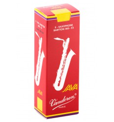 Boite de 5 anches Vandoren Java Rouge pour Saxophone Baryton