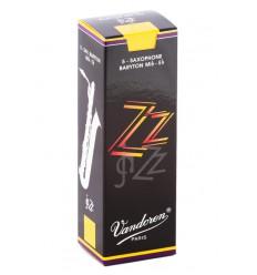 Boite de 5 anches Vandoren ZZ pour Saxophone Baryton