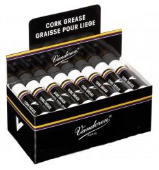 Pack de 24 tube de graisse Vandoren pour liège